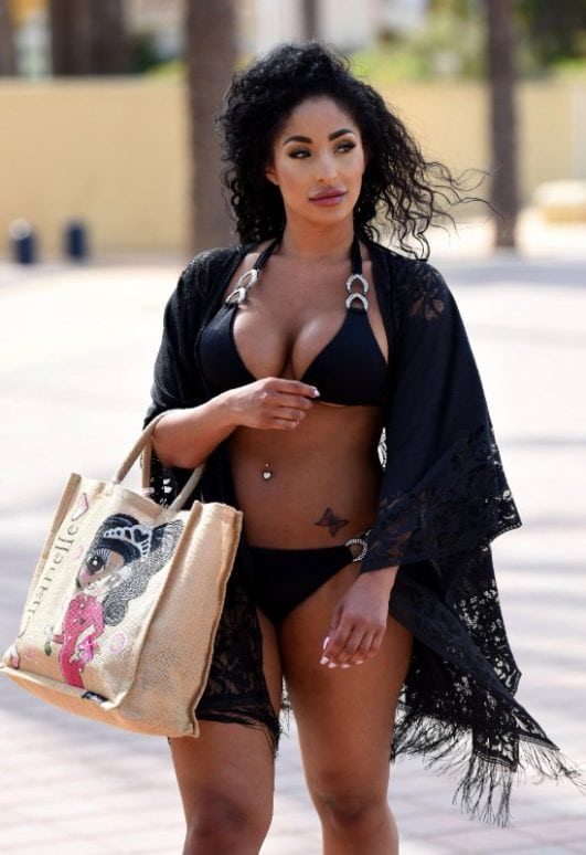 Chanelle Sadie Paul bikini