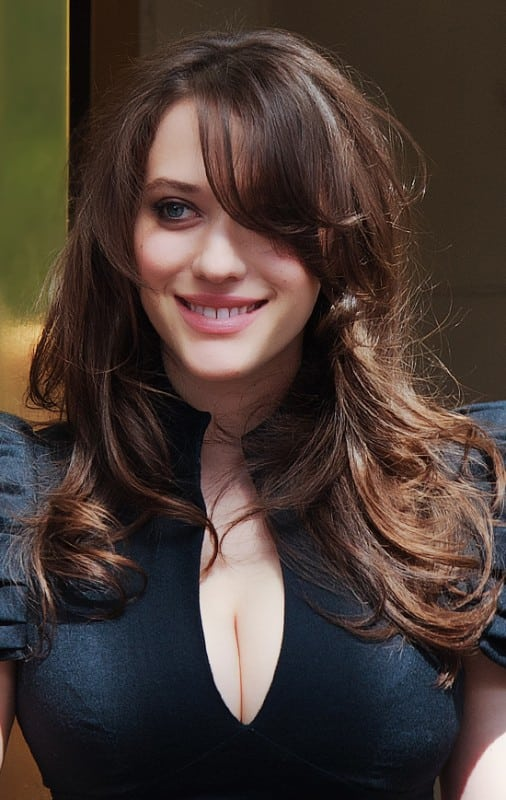 Kat Dennings Boobs Hot And Young 2 Broke Girls Actress 21 Hot Pics