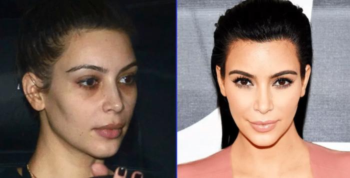 Kim Kardashian withot makeup