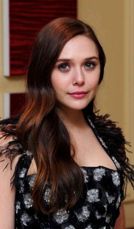 Scarlet Witch actress elizabeth olsen hot look