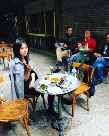 Zhu Zhu eating