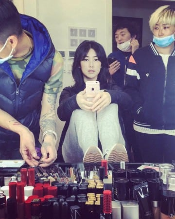 Zhu Zhu sefie hot look