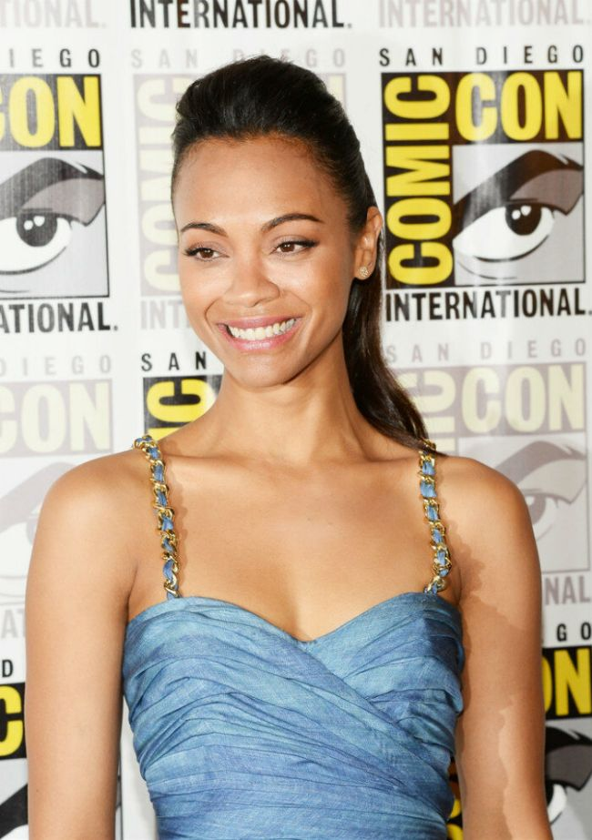 Zoe Saldana hot gamora actress photos sexy Instagram bikini pictures