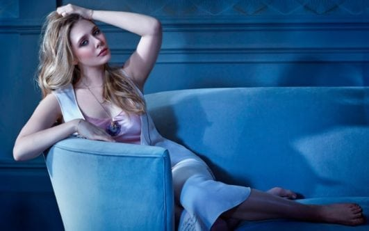 elizabeth olsen hot pose for a magazine