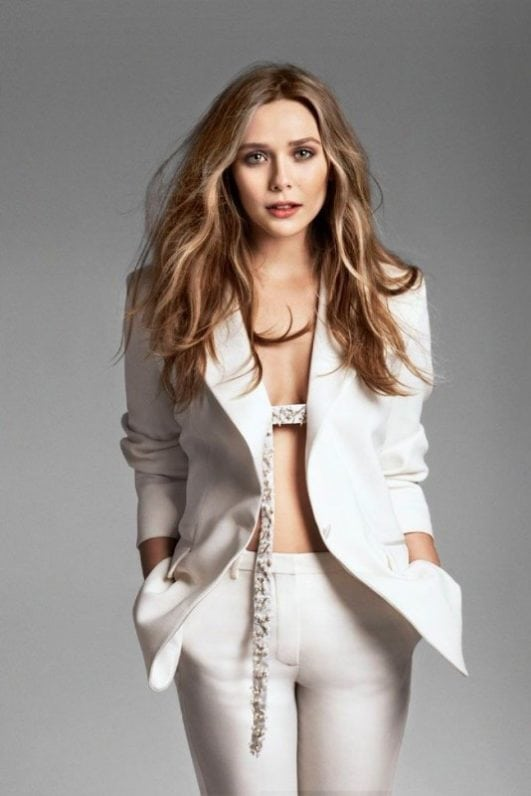 elizabeth olsen marvel avenger actress sexy photo
