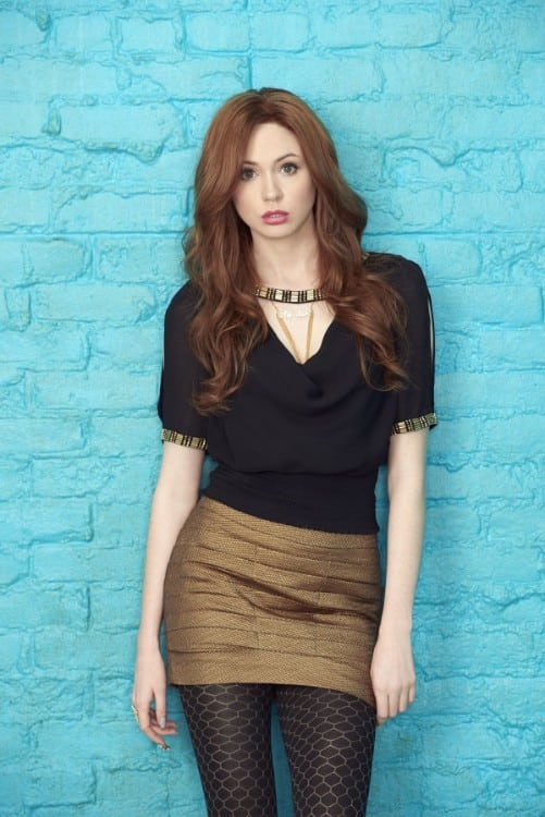 karen gillan hot actress playing amy pond