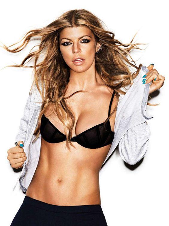 Fergie hot instagram photos sexy bikini near-nude pics