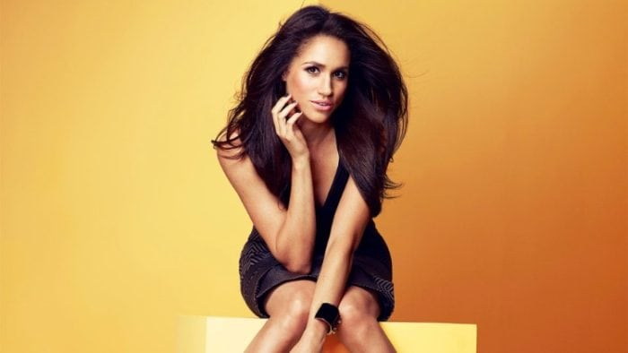 Prince Harry wife Meghan Markle sext looking in a magazine photoshoot