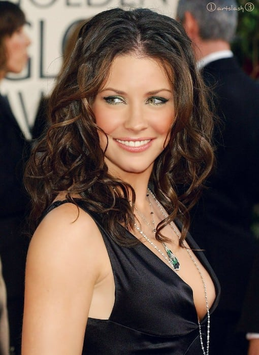 evangeline lilly hot boobs show