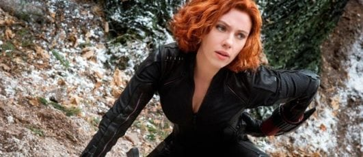 scarlett johansson hot pics from avengers as Black Widow