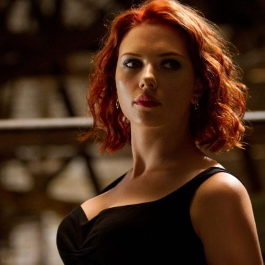 scarlett johansson hot pics from avengers movie