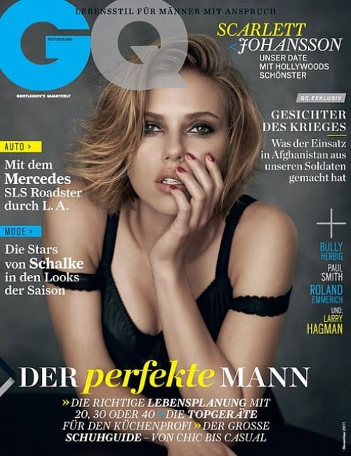 scarlett johansson hot pics from gq magazine cover