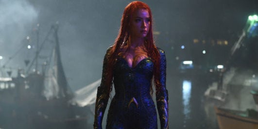 Aquaman actress Amber Heard hot as mera