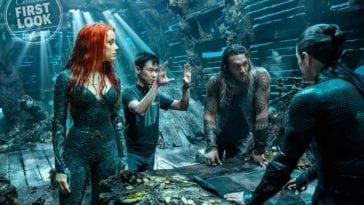 Aquaman actress Amber Heard movie still as mera