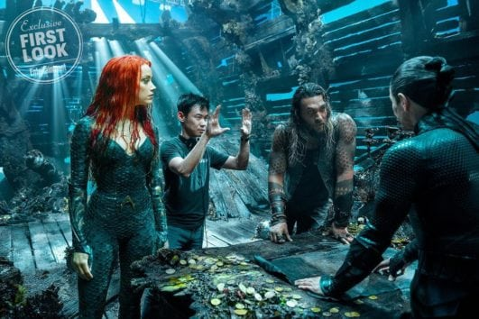 Aquaman actress Amber Heard movie still as mera