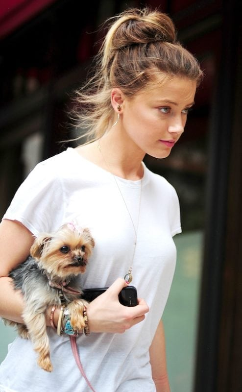 Celebrity Sightings In New York City - August 27, 2012