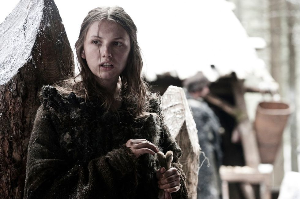 HANNAH MURRAY as GILLY in game of throns