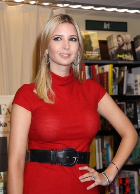 Ivanka Trump hot pics in red dress
