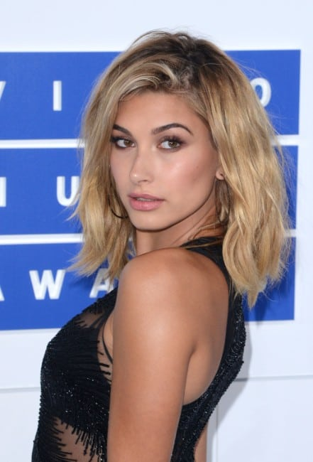 hailey baldwin hot backless dress pics