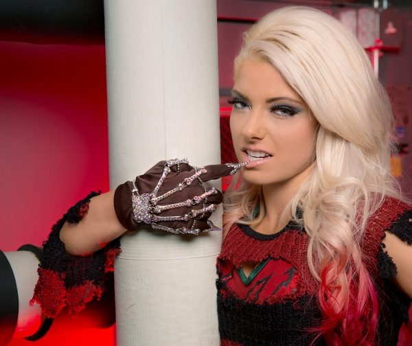 Alexa Bliss hot model and fighter
