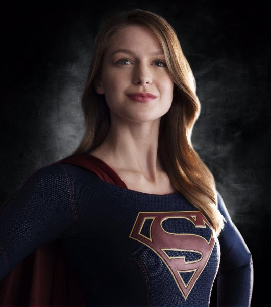 Melissa Benoist as superwome hot image