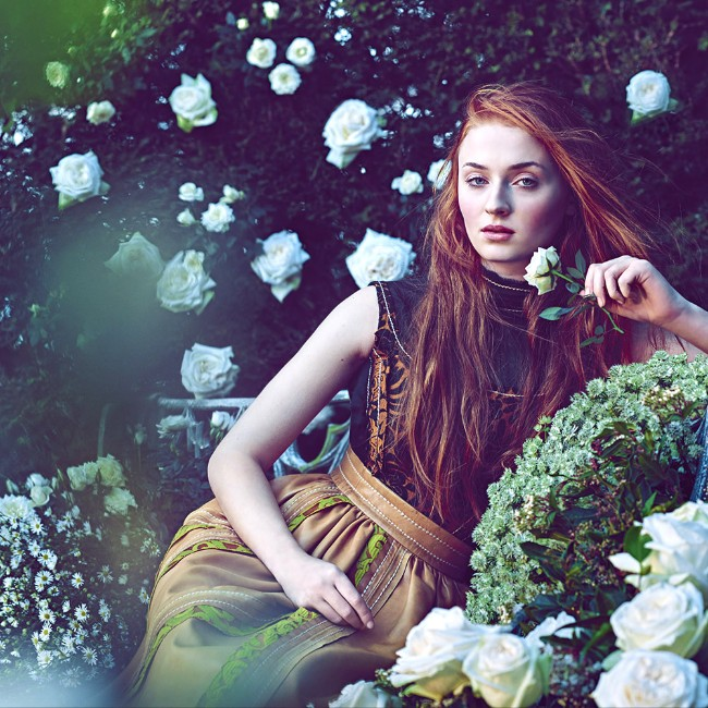 Sophie-Turner hot Sansa Stark in got
