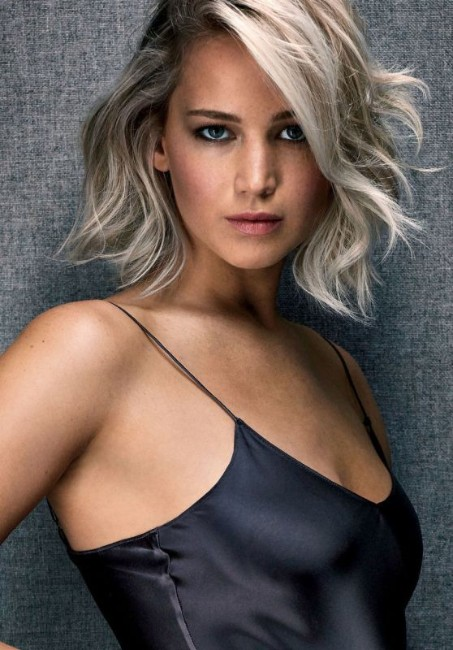 jenifer lawrence sexy white hair