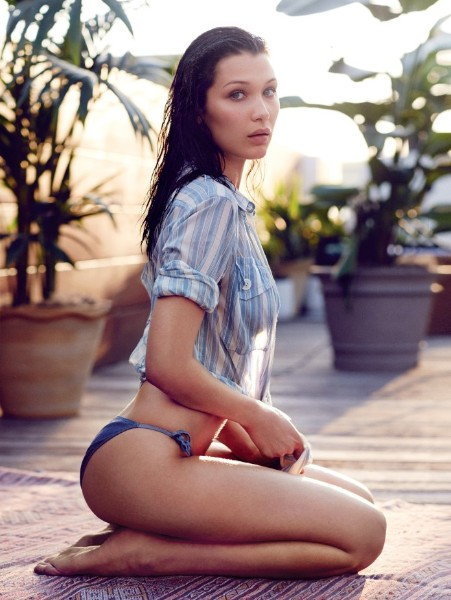 sexy Bella Hadid photoshoot pic