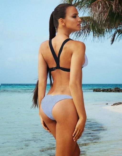 Bradley Cooper wife Irina Shayk hot in bikini