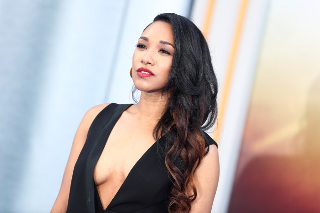 Candice Patton hot boobs