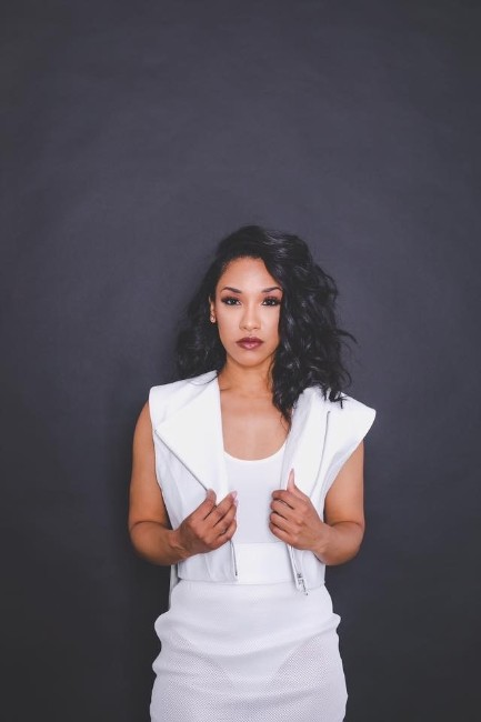 Candice Patton hot photo in white