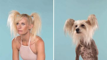 Dogs and their owners (photos by Gerrard Gethings) - Made me smile