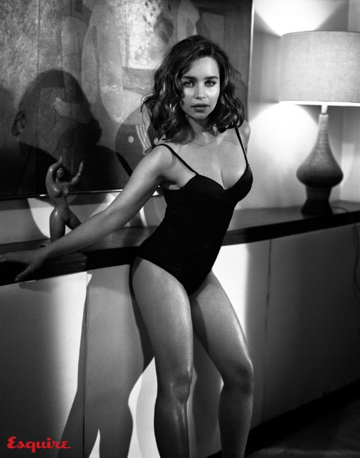 Emilia Clarke hot in swimsuits