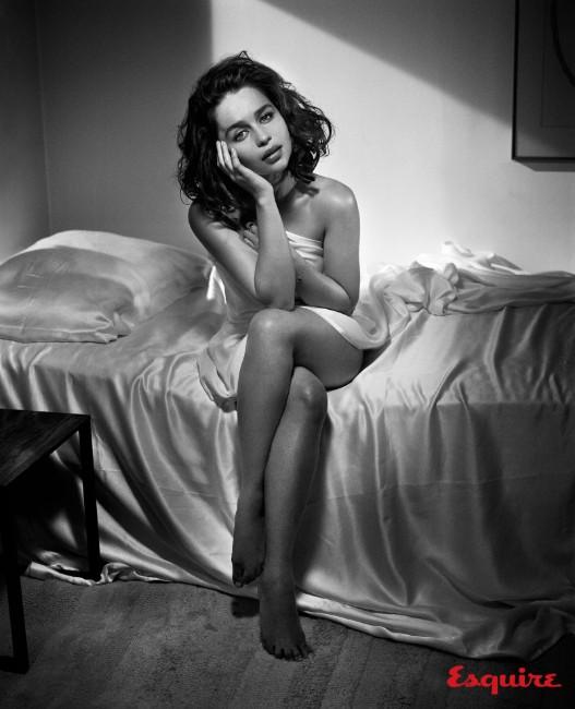 Emilia Clarke nude image