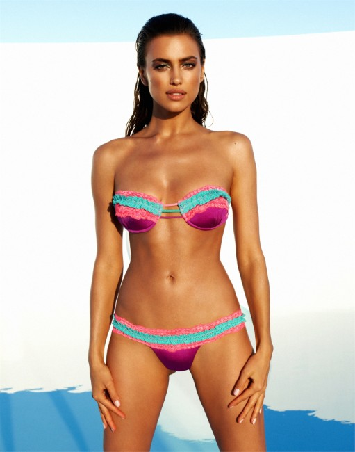 Irina Shayk bikini photos from latest photoshoot