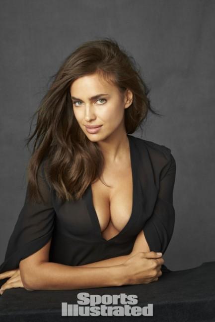 Irina Shayk deep boob picture