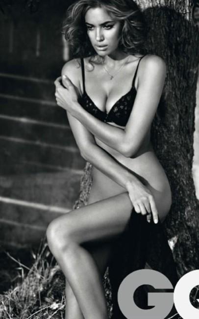 Irina Shayk hot gq magazine photos