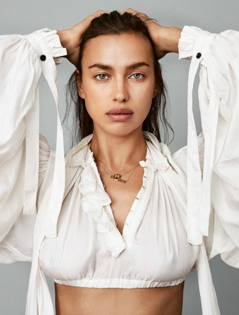Irina Shayk latest magazinr photoshoot still
