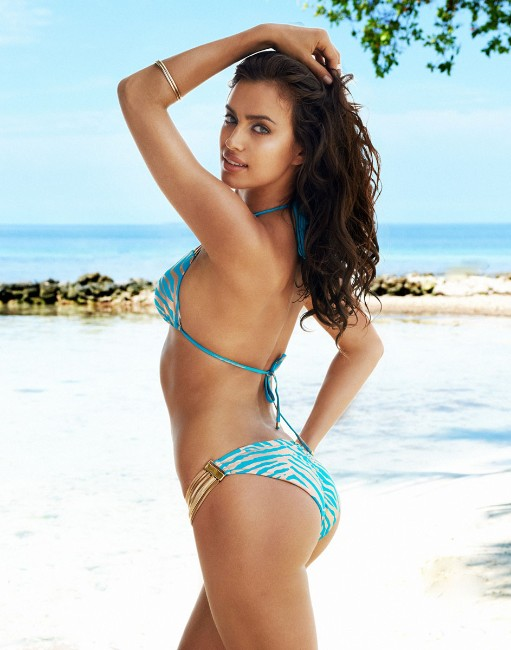 Irina Shayk sexy ass in bikini picture