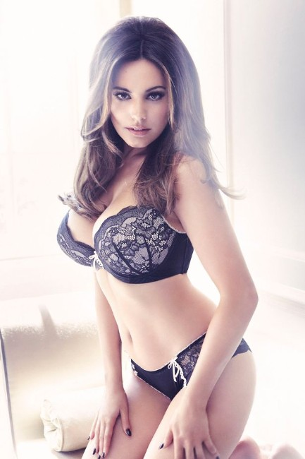 Kelly Brook in New Look Lingerie 2012