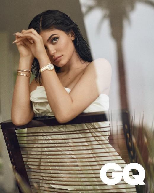 Kylie Jenner hot photohoot still for gq magazine