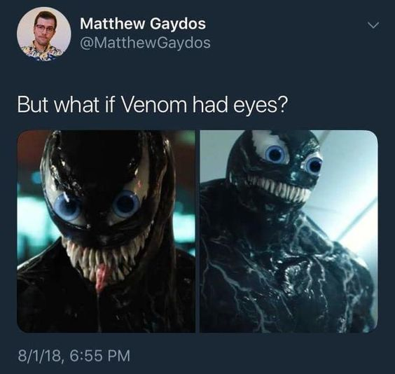 Venom Memes, marvel venom movie, tom hardy venom, hilarious meme about vanom