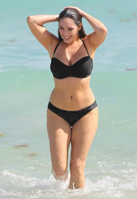 kelly brook semi nude bikini photo