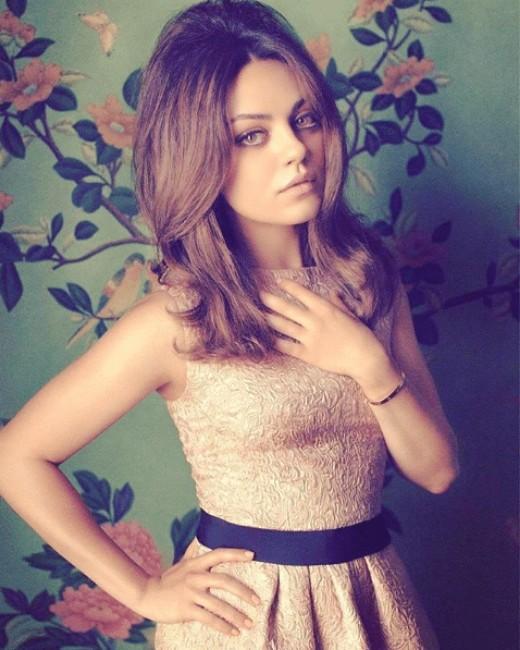 mila kunis sexy hot latest photo