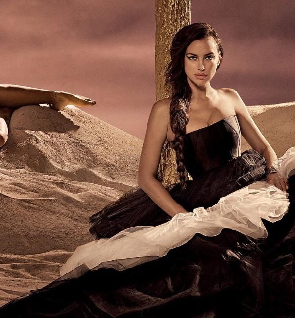 russian mode Irina Shayk sexy pics