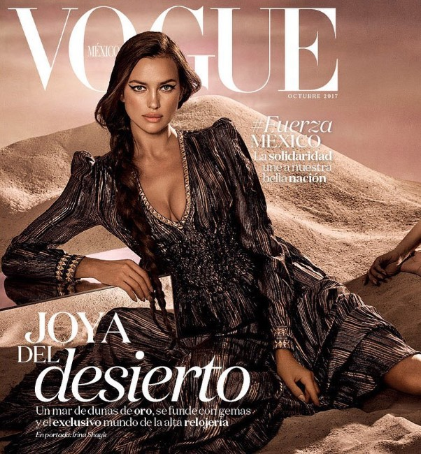 vouge cover girl Irina Shayk picture