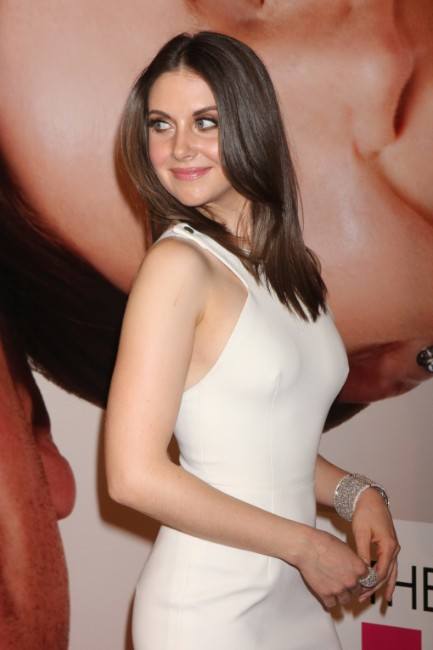 Alison Brie hot as hell look in white