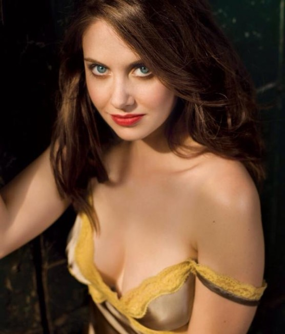 Alison Brie sexy looking boobs how pics
