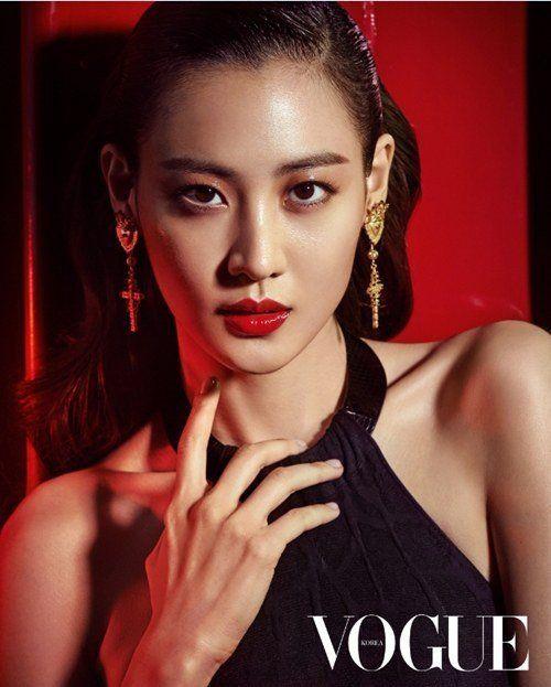 Claudia Kim hot vouge magazine photoshoot
