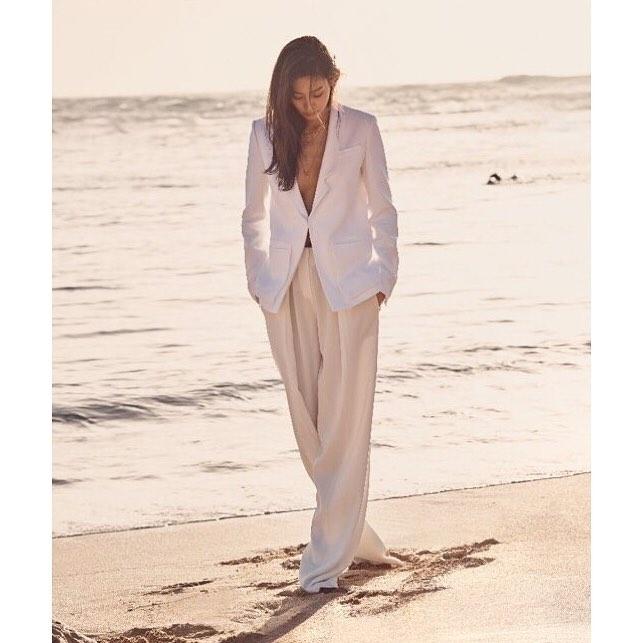 Claudia Kim nude at beach
